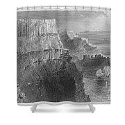Ireland: Cliffs, C1840 Shower Curtain