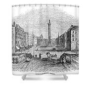 Ireland: Dublin, 1843 Shower Curtain