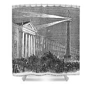 Ireland: Dublin, 1849 Shower Curtain