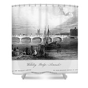 Ireland: Limerick, C1840 Shower Curtain