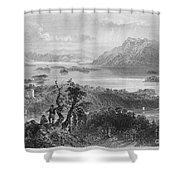 Ireland: Lough Gill, C1840 Shower Curtain