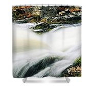 Ireland Waterfall Shower Curtain