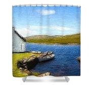 Irelands Beauty Shower Curtain