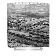 Irish Fields Shower Curtain
