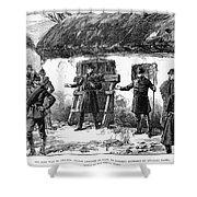 Irish Land League, 1887 Shower Curtain