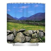 Irish Snow Scenes, Co Wicklow Shower Curtain