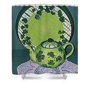 Irish Tea Shower Curtain