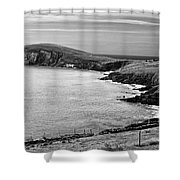 Irish Western Coast Shower Curtain
