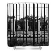 Iron And Pillars Shower Curtain