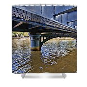 Iron Bridge Shower Curtain