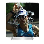 Ironman 2012 A Long Day Shower Curtain