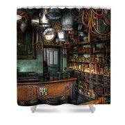 Ironmonger's Shop Shower Curtain