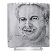 Irrepressible Shower Curtain