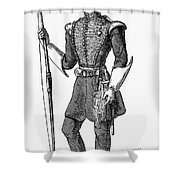 Irvine Toxophilite, 1846 Shower Curtain