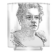 Isabel Florence Hapgood Shower Curtain