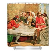 Isabella Shower Curtain by Sir John Everett Millais