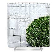 Isaiah 58 Vs 12 Shower Curtain