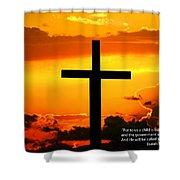 Isaiah 9-6 Niv Shower Curtain