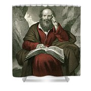 Isaiah, Old Testament Prophet Shower Curtain