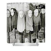 Islamic Mannequins Shower Curtain
