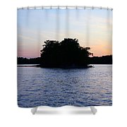 Island Evening Shower Curtain