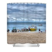 Island Hoppers 1 Shower Curtain
