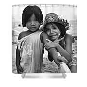 Island Kids Shower Curtain