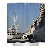 Istanbul Cruise Ship Terminal Shower Curtain