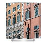 Italian Facade Shower Curtain