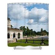 Italian Gardens London Shower Curtain