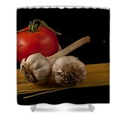 Italian Palate Number 5 Shower Curtain