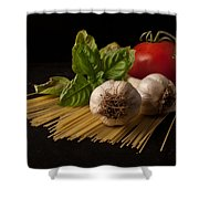 Italian Palate Number 6 Shower Curtain