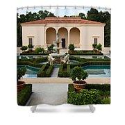 Italian Renaissance Garden Shower Curtain