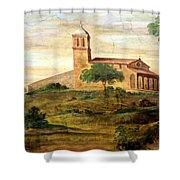 Italian Valley  Shower Curtain