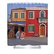 Italy Venice  Shower Curtain