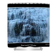 Ithaca Falls New York Closeup Shower Curtain
