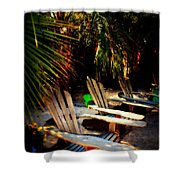 Its Margarita Time In Paradise Shower Curtain by Susanne Van Hulst