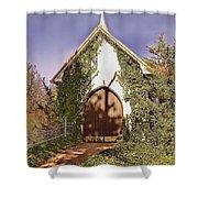 Ivy Church Shower Curtain