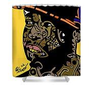 J Dilla Full Color Shower Curtain