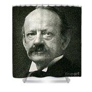 J. J. Thomson, English Physicist Shower Curtain