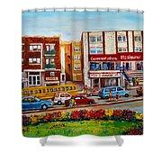 J Slawner Ltd Cote Des Neiges Shower Curtain