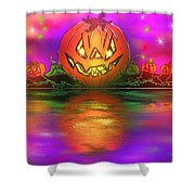 Jack And Friends By The Waters Edge Shower Curtain