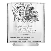 Jack And Jill, 1833 Shower Curtain