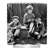 Jackie Cooper Shower Curtain