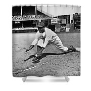 Jackie Robinson (1919-1972) Shower Curtain