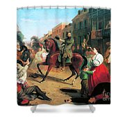 Jackson In Winchester, 1862 Shower Curtain