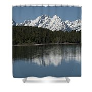 Jackson Lake Shower Curtain
