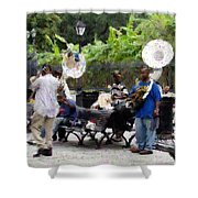 Jackson Square Sound Shower Curtain