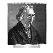Jacob Grimm (1785-1863) Shower Curtain