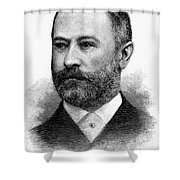 Jacob Henry Schiff Shower Curtain